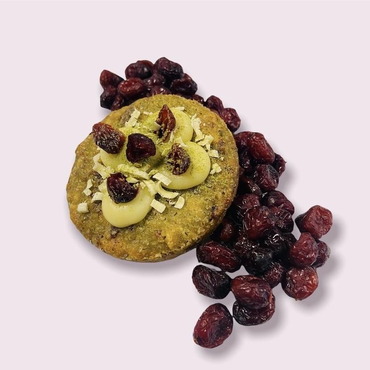 Cookies Thé Matcha & Cranberry