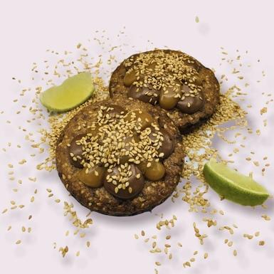 Cookies Sésame & citron vert
